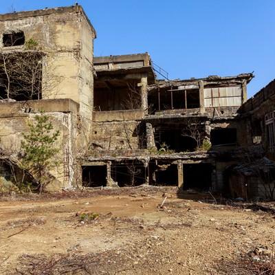 「尾去沢鉱山(おさりざわこうざん)」の写真素材