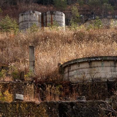 「土畑鉱山」の写真素材