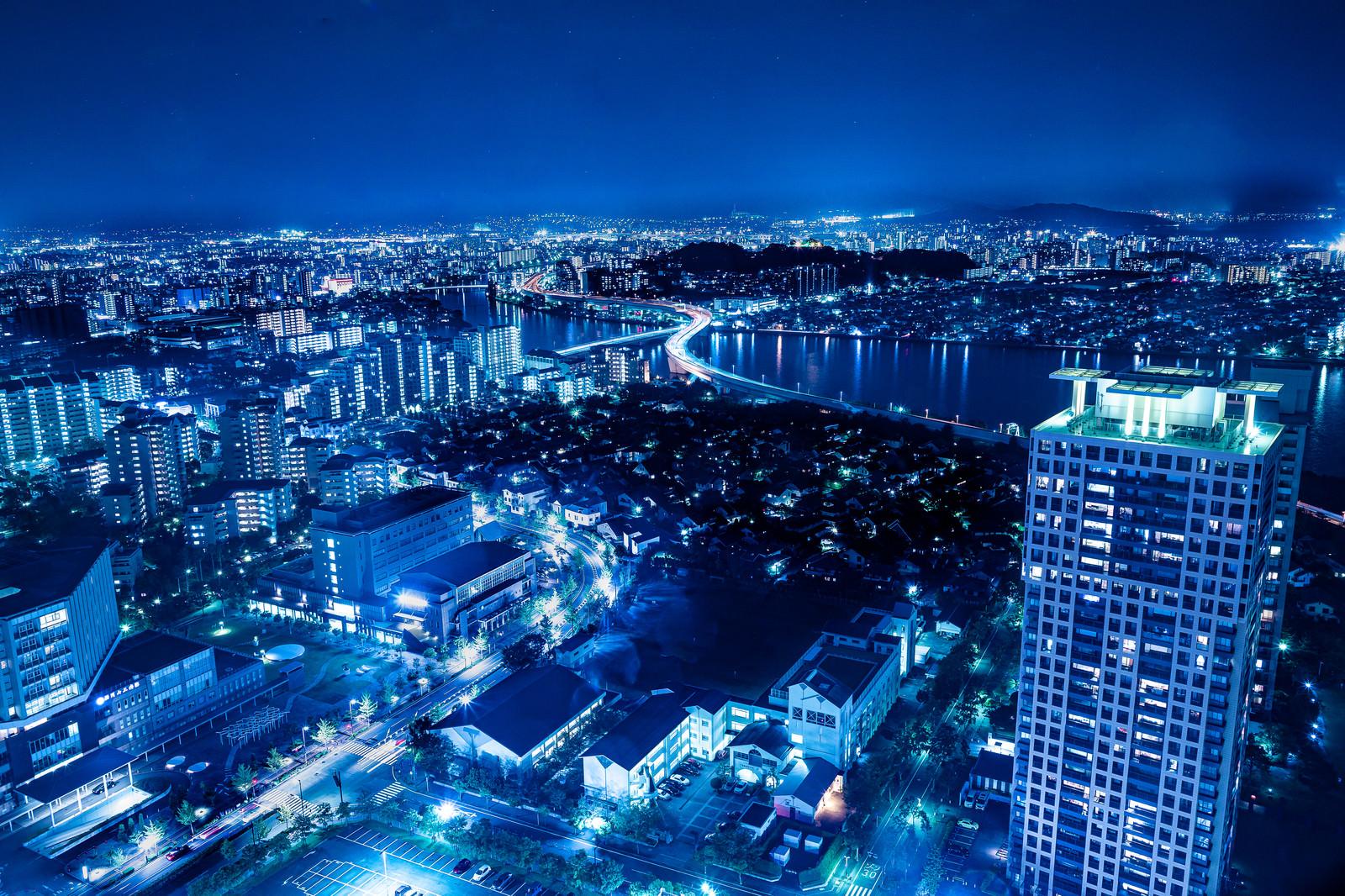 「博多の夜景」の写真