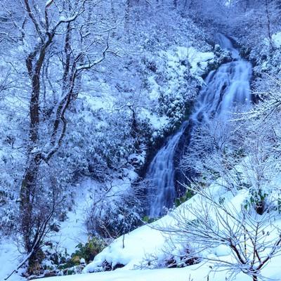小坂町の七滝の写真