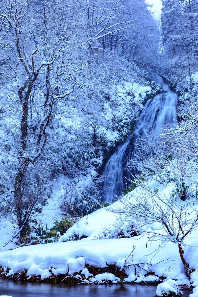 「小坂町の七滝」の写真