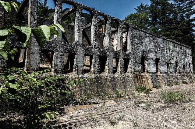 阿仁小沢鉱山跡(あにこうざんあと)の写真