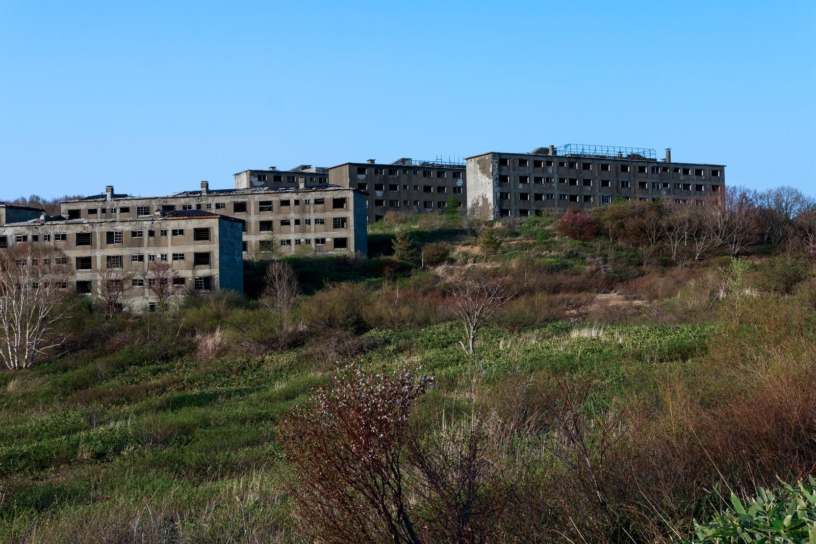 「高台の廃墟」の写真