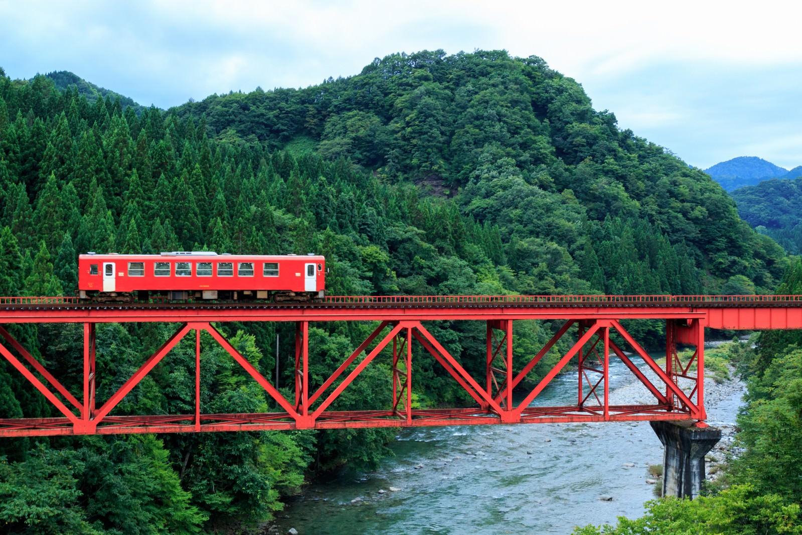 「秋田内陸鉄道」の写真