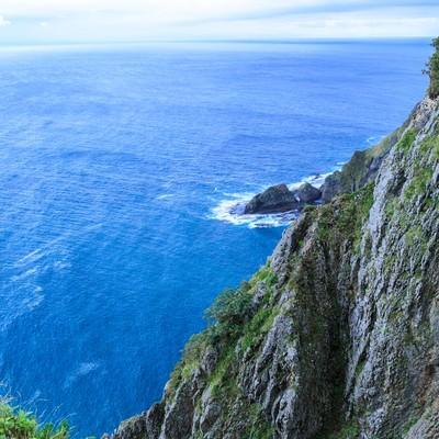 地球岬の断崖の写真