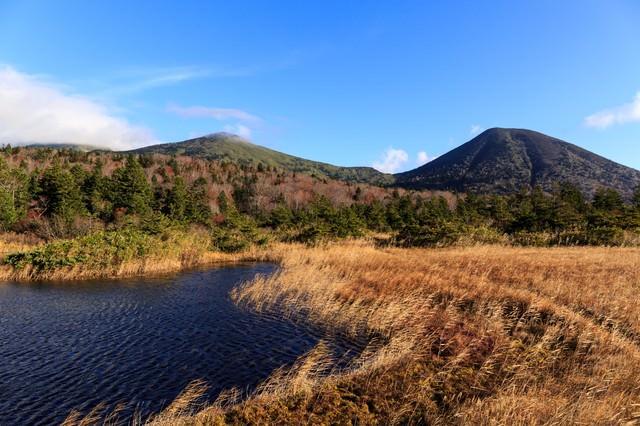 晩秋の八甲田山の写真