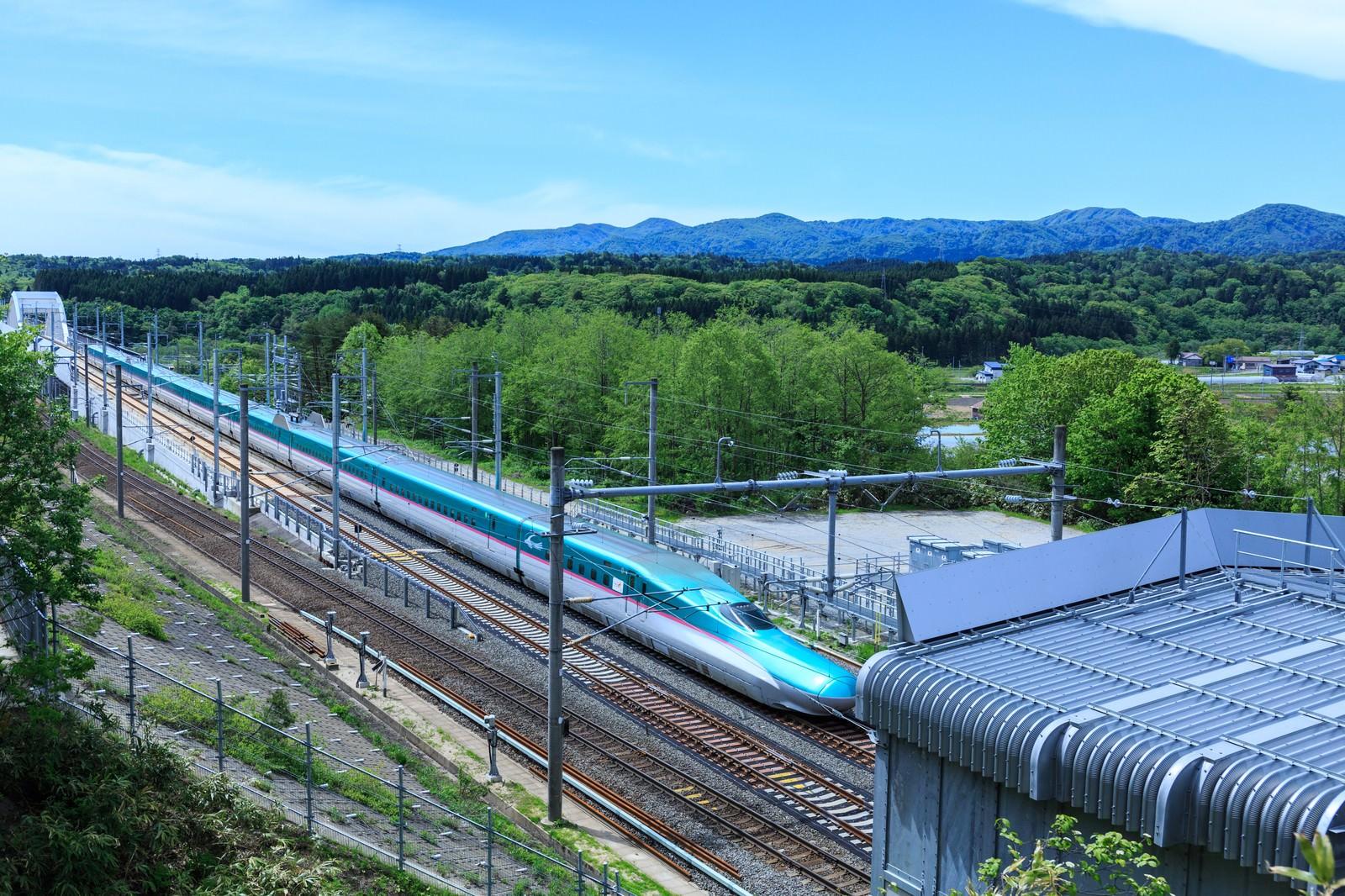「北海道新幹線」の写真