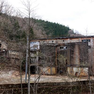 「古遠部鉱山跡」の写真素材