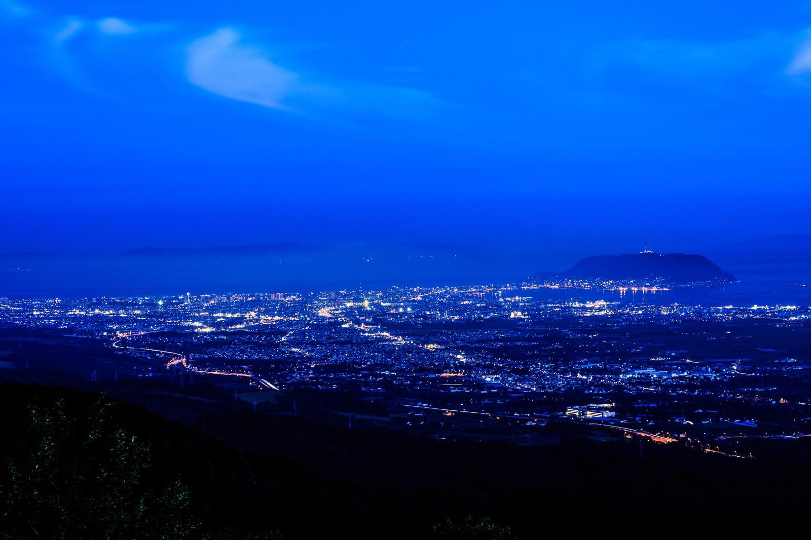「函館裏夜景」の写真