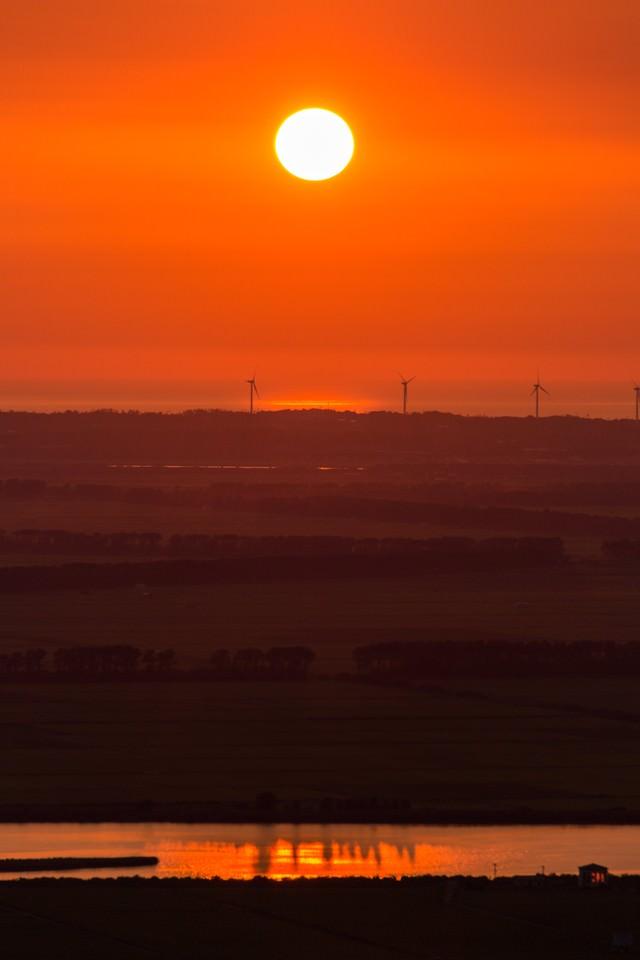 日が沈むまでの写真