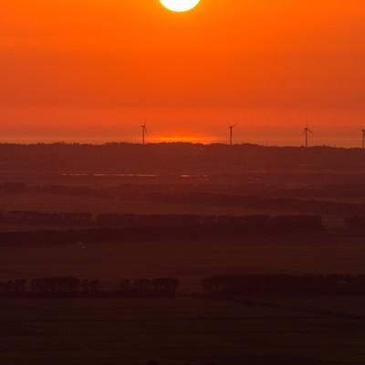 「日が沈むまで」の写真素材