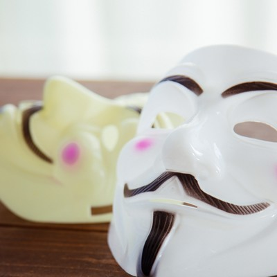 「名無しの仮面」の写真素材
