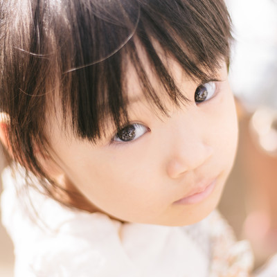 「愛娘」の写真素材