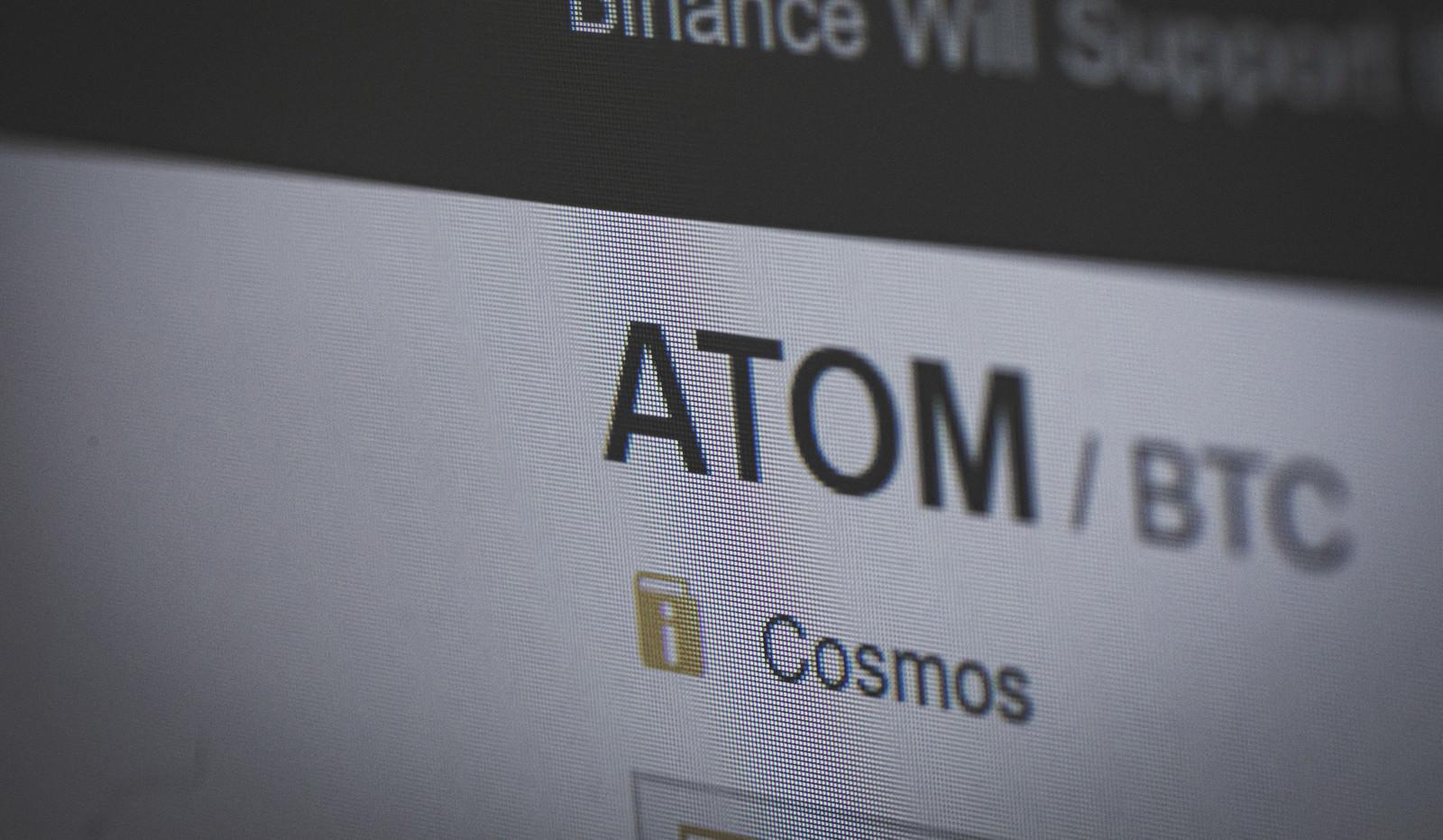 「ATOM/BTC」の写真