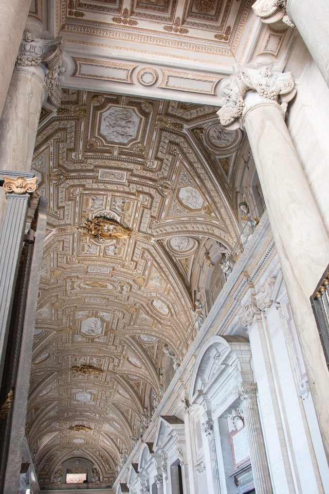 システィーナ礼拝堂の天井の写真