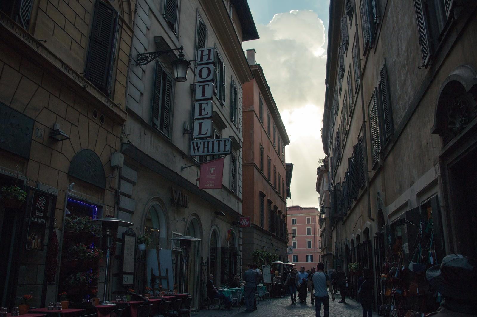 「イタリアの街中」の写真