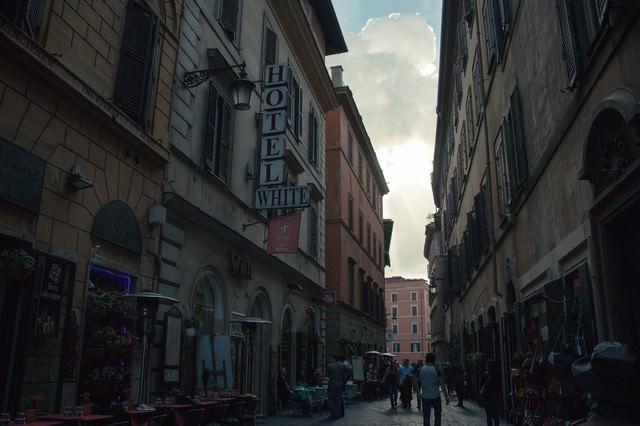イタリアの街中の写真