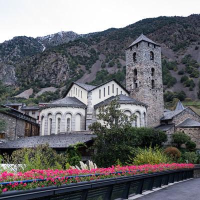 アンドラの聖エステべ教会の写真