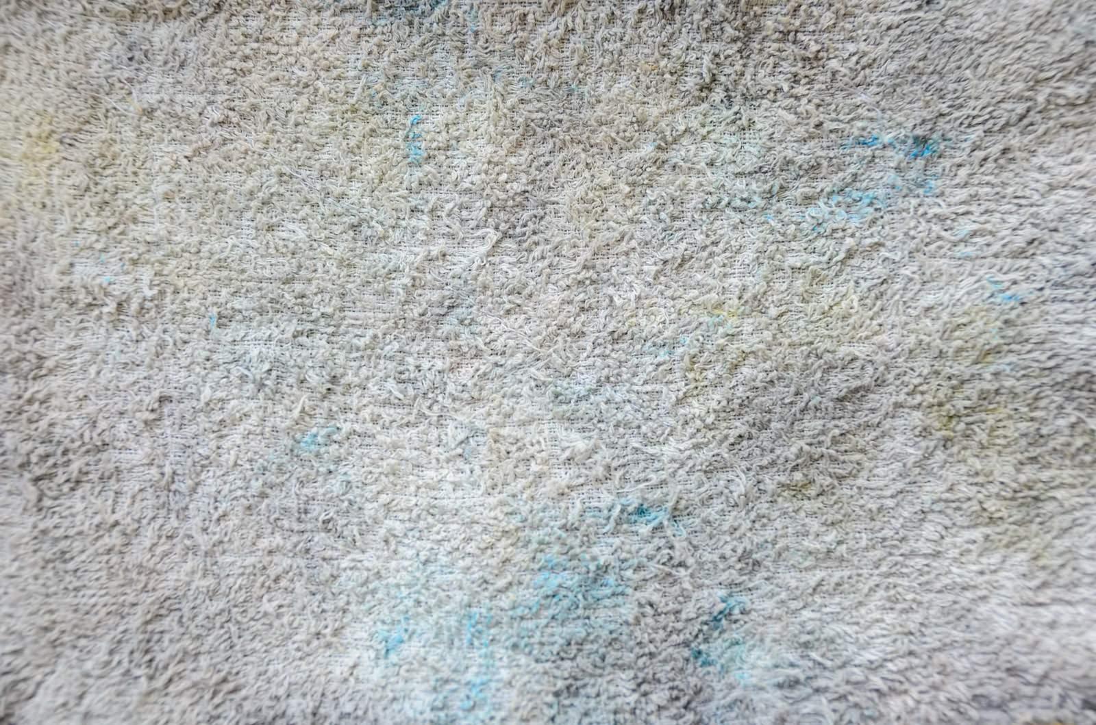 「汚れた雑巾のテクスチャー」の写真