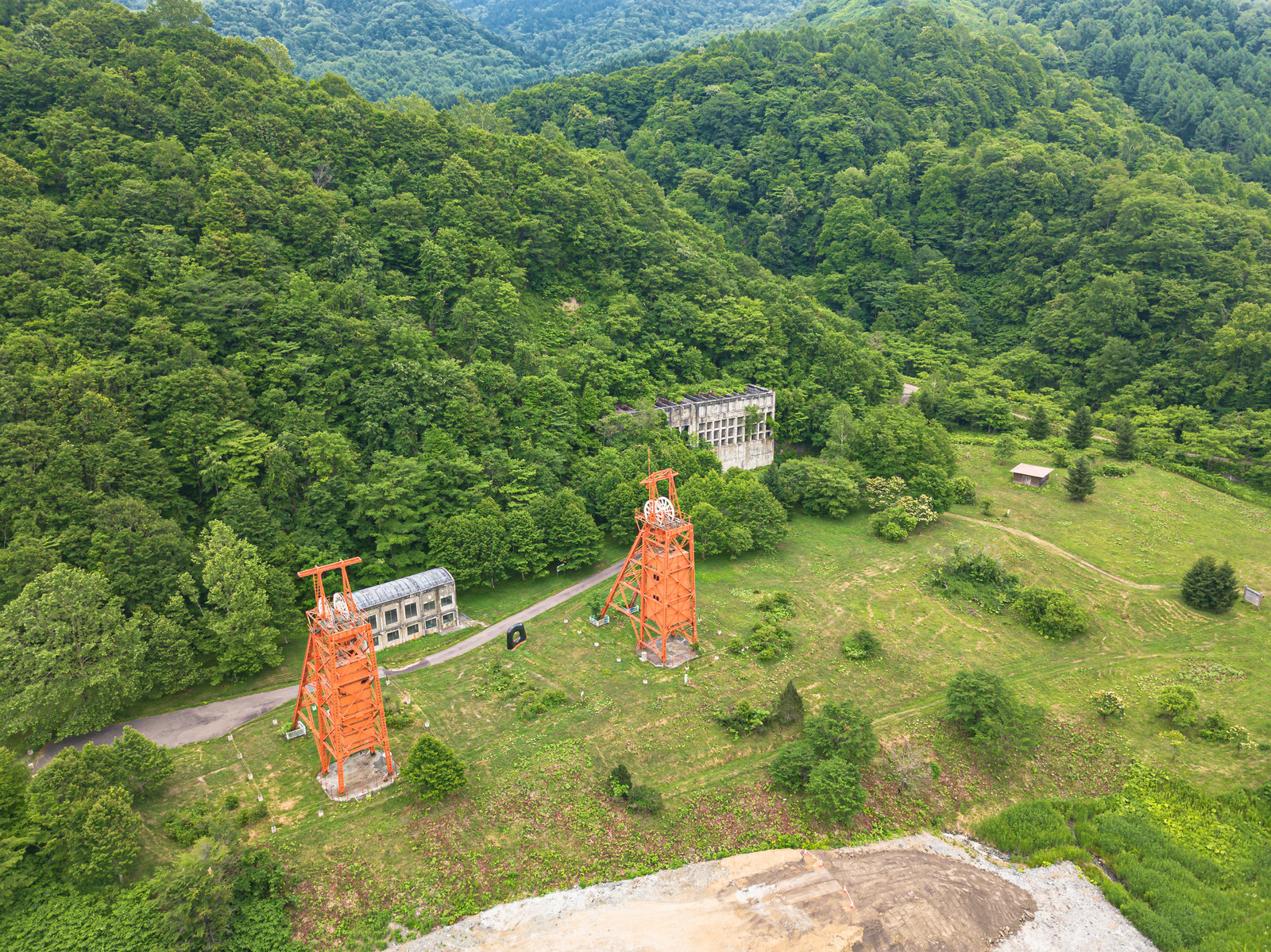 「旧三菱美唄炭鉱施設」の写真