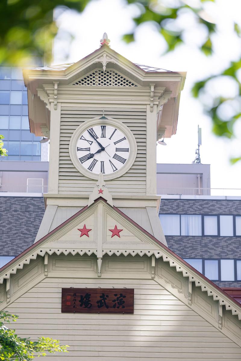 「札幌市時計台」の写真