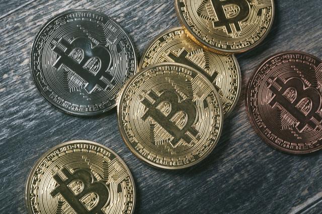 bitcoinのメダル