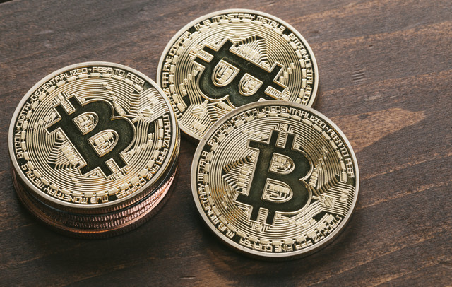 高騰を続けるビットコイン価格の写真