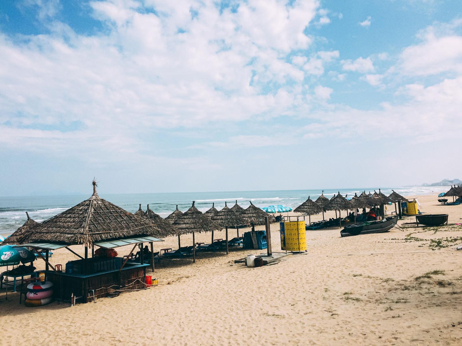 「ダナンのリゾートビーチ(ベトナム)」の写真