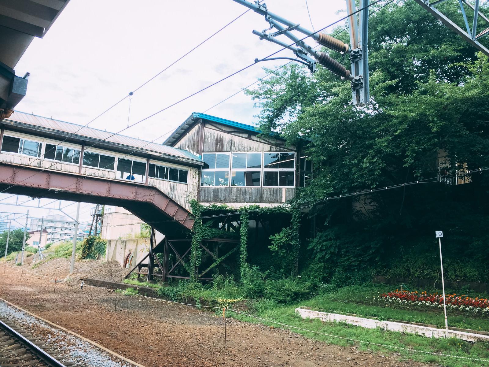 「情緒あふれる南小樽駅(北海道)」の写真