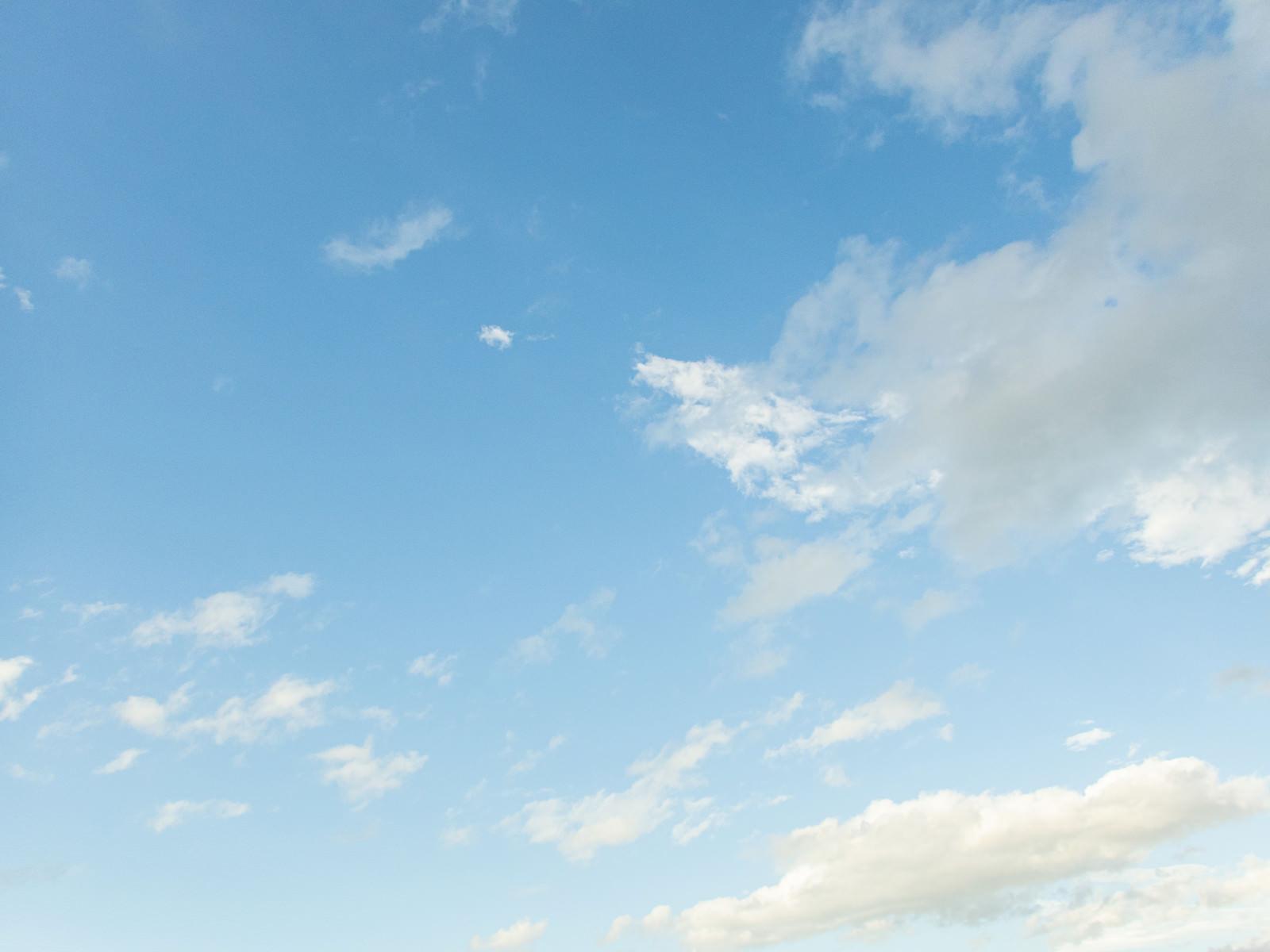 「水色空」の写真