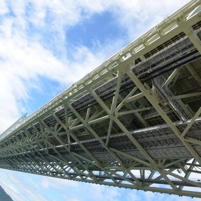 「陸橋下のアングル」の写真素材