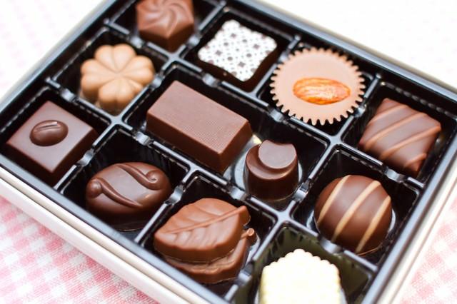 チョコレート詰め合わせの写真
