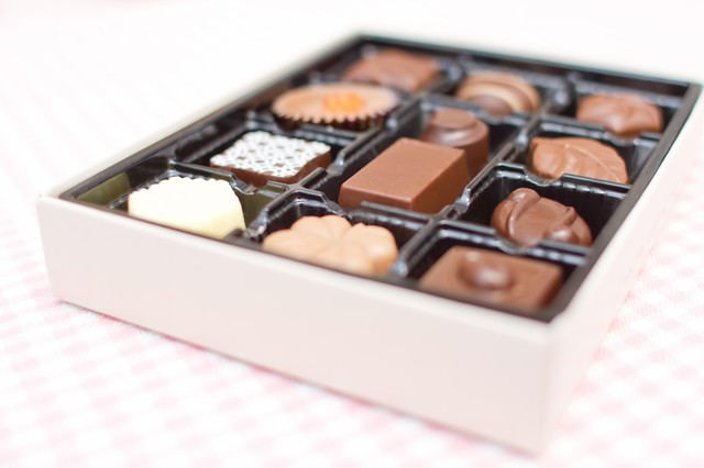 バレンタインのチョコレートの写真
