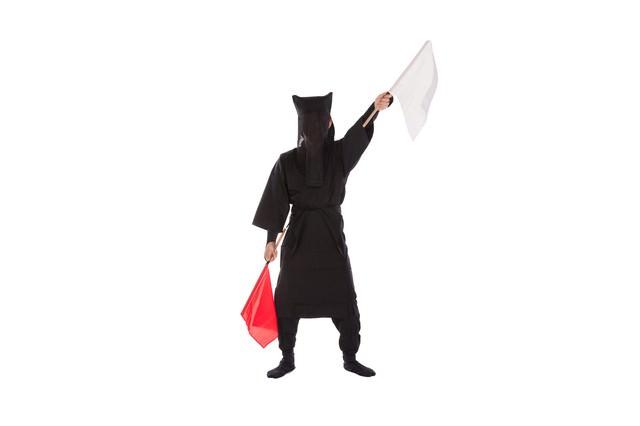 黒子の手旗信号②の写真