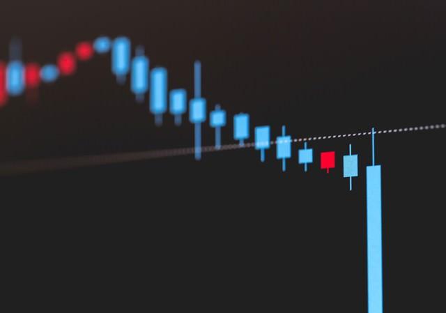 株の大暴落の写真