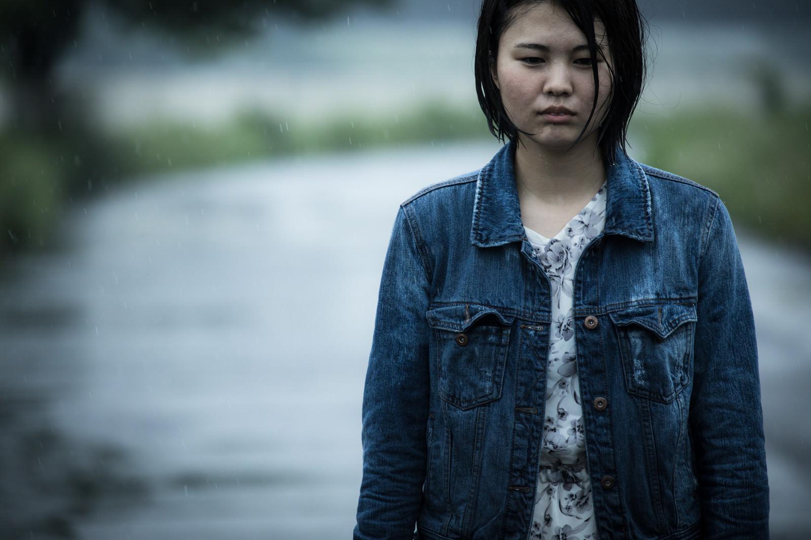 「涙雨」の写真[モデル:佐竹PP]