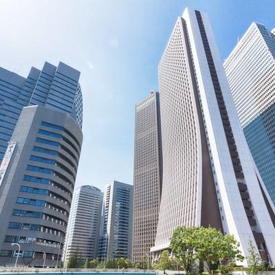 「新宿の高層ビル」の写真素材