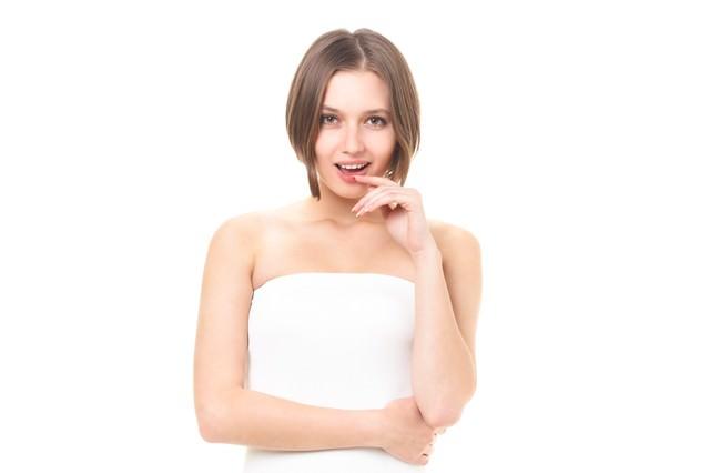 美しいロシア人女性(美容・エステ)の写真