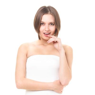 「美しいロシア人女性(美容・エステ)」の写真素材