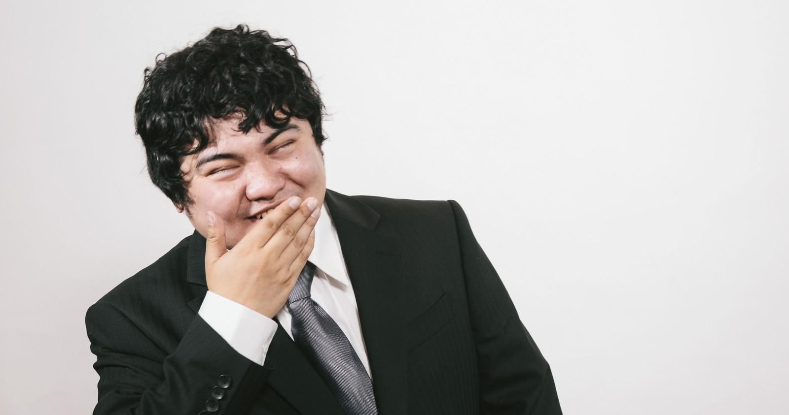 「ええんやで(ニッコリええんやで(ニッコリ」[モデル:段田隼人]のフリー写真素材を拡大