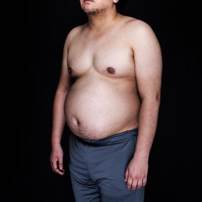 「食事制限中にジャンクフードが食べたくて遠い目」の写真素材