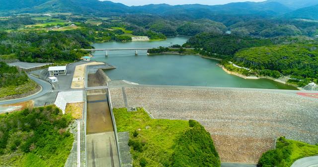 徳之島ダムの写真