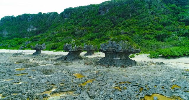 犬の門蓋の奇岩の写真