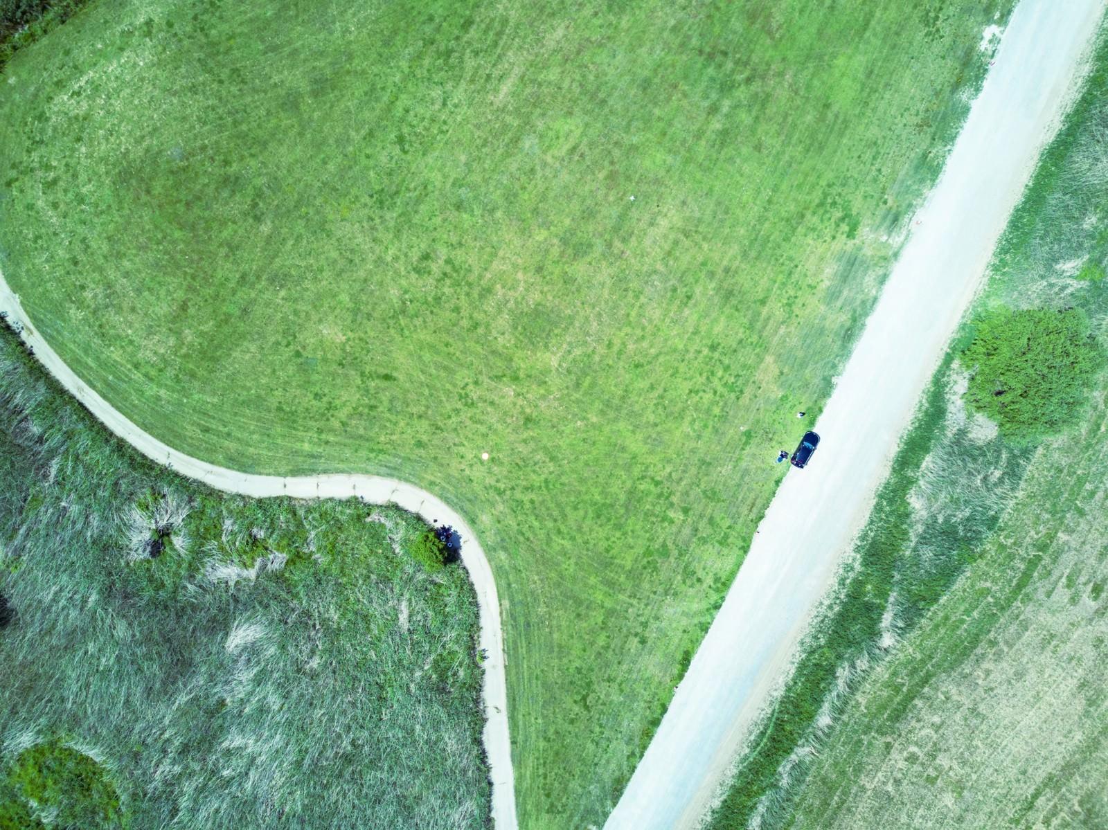 「リバーフィールド古河のドローン練習場を撮影」の写真