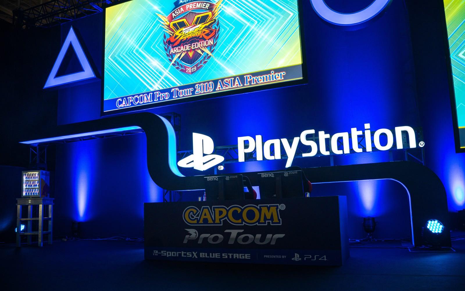 「CAPCOM Pro Tour 2019 アジアプレミア」の写真
