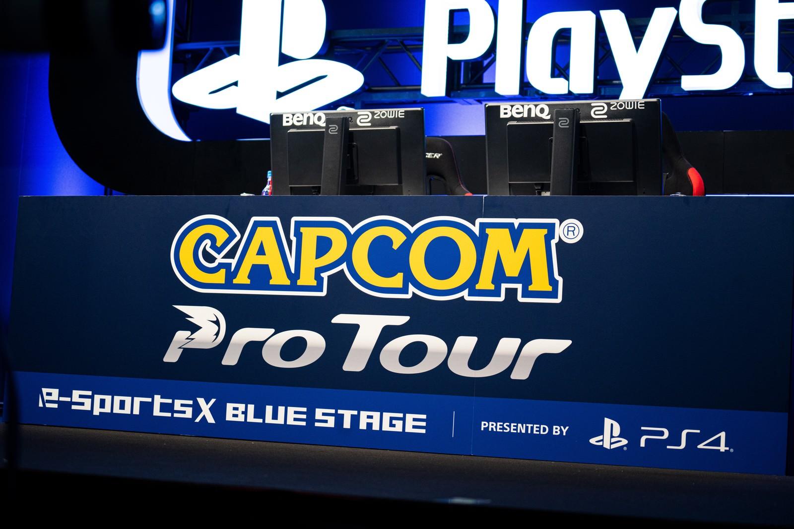 「CAPCOM Pro Tour ロゴ - CAPCOM Pro Tour 2019 アジアプレミア」の写真
