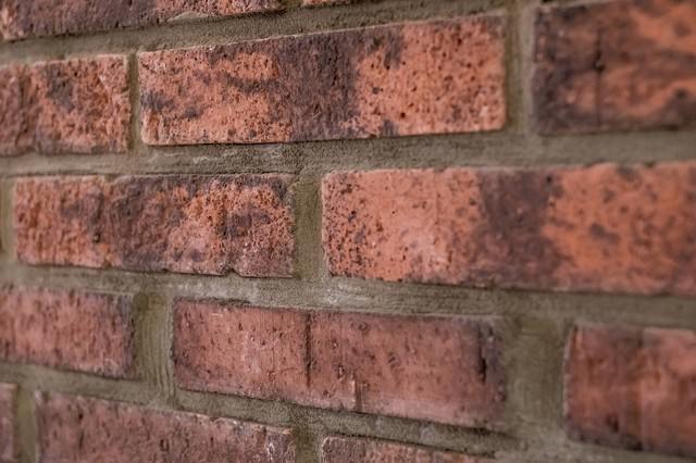 レンガの外壁の写真