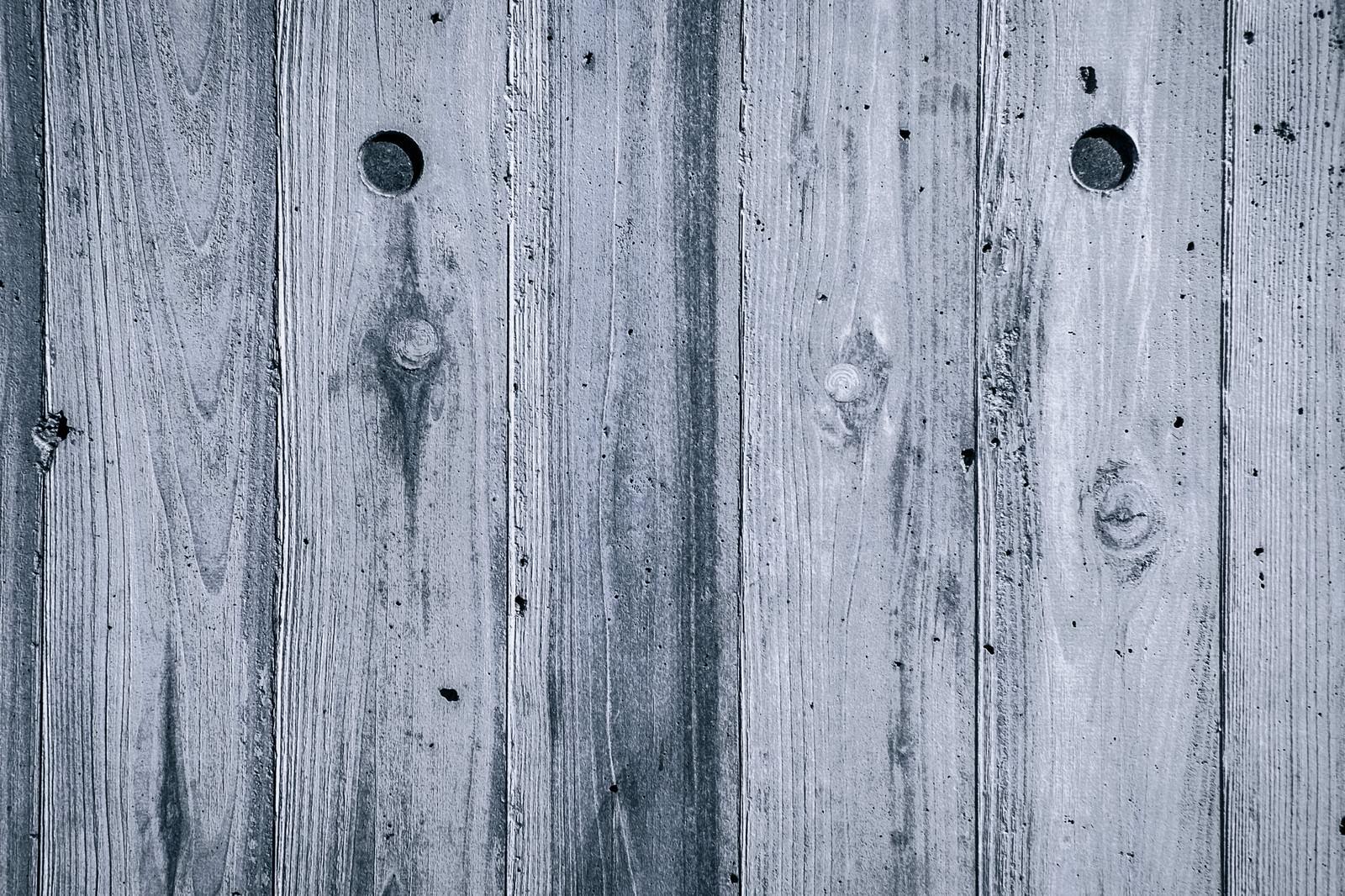 「白い木目のテクスチャー」の写真