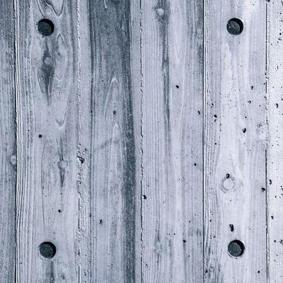 「白い木目の壁(テクスチャー)」の写真素材