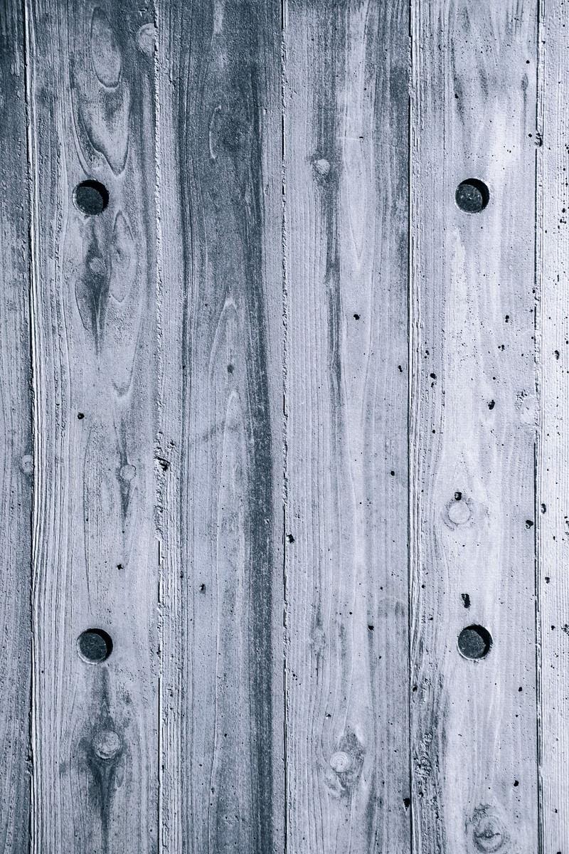 「白い木目の壁(テクスチャー)」の写真